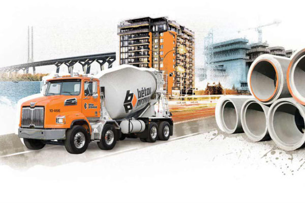 Béton Provincial offers a wide variety of concrete products