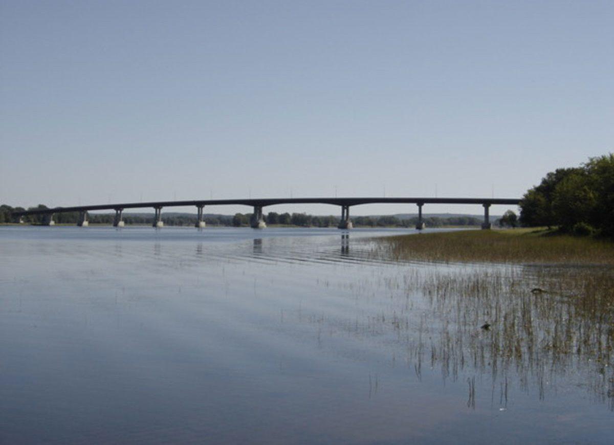 Béton Provincial - Jemseg River Bridge Nouveau-Brunswick