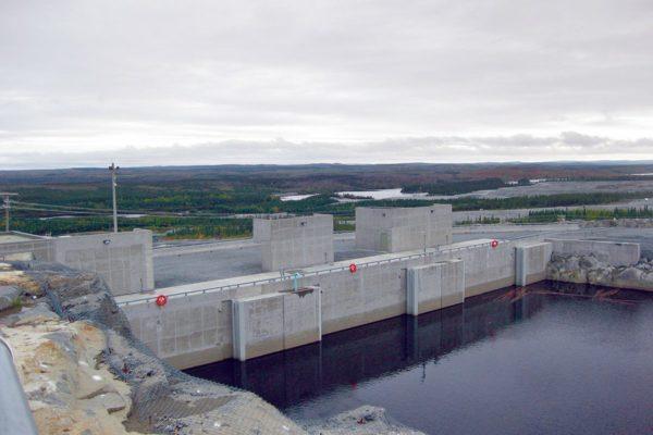 Centrale Hydro-électrique Eastmain 1 et 1A