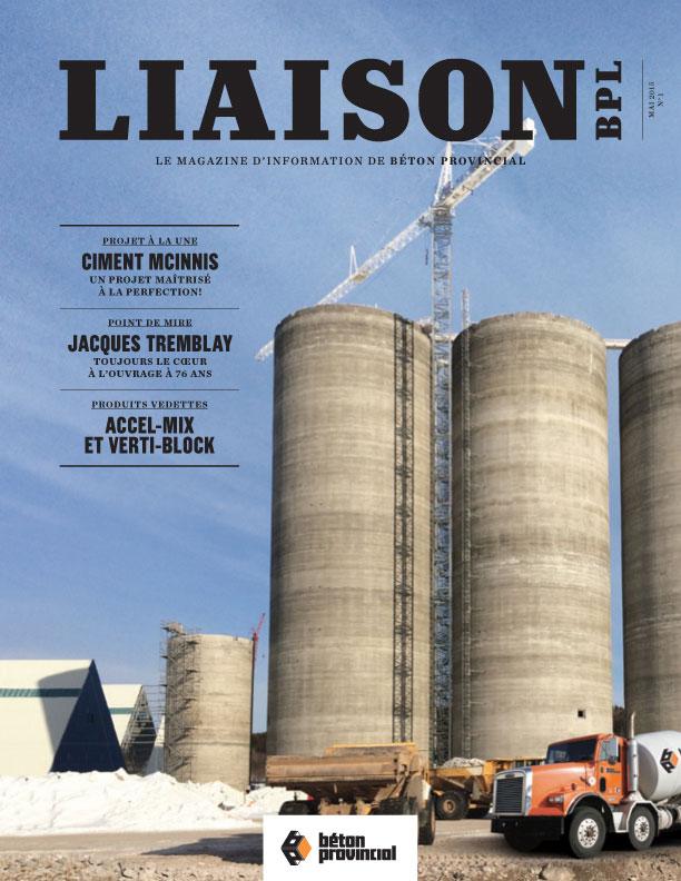 Magazine Liaison 1, printemps 2015