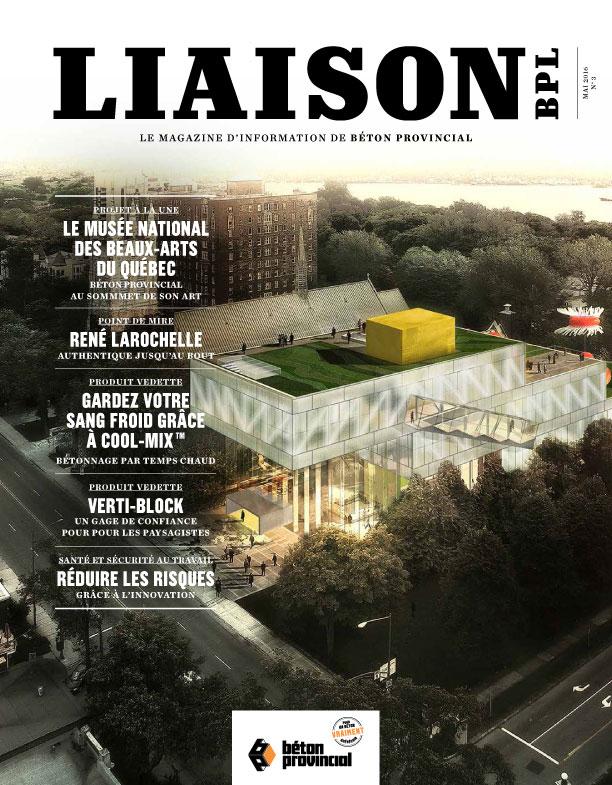 Magazine Liaison 3, printemps 2016