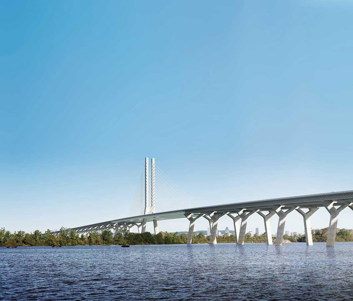 Béton Provincial - Pont Champlain Montréal