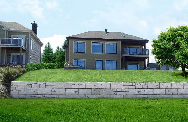 Béton Provincial - Mur architecturaux