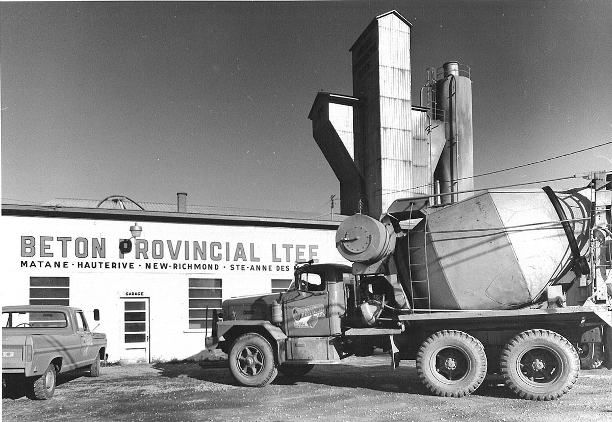Béton Provincial - Historique