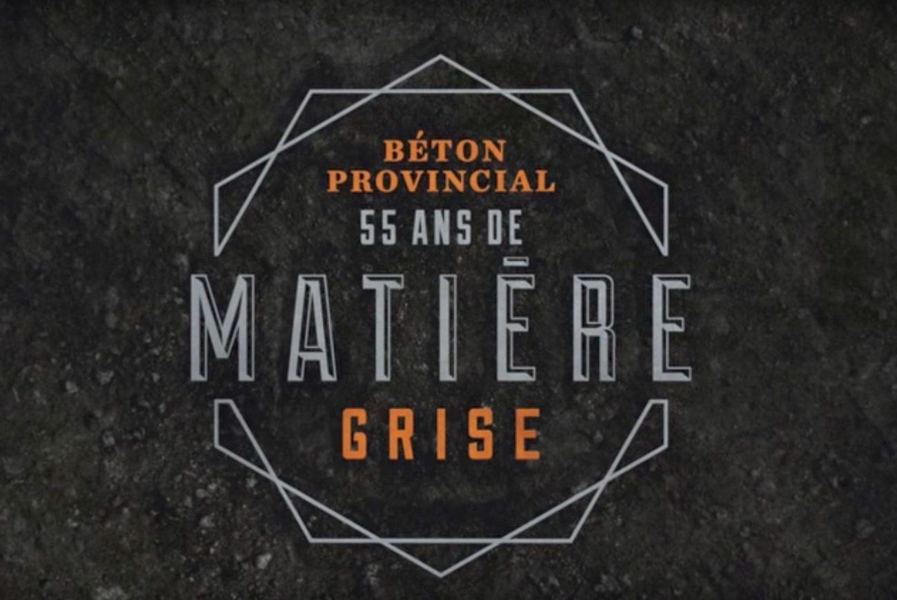 55 ans de matière grise
