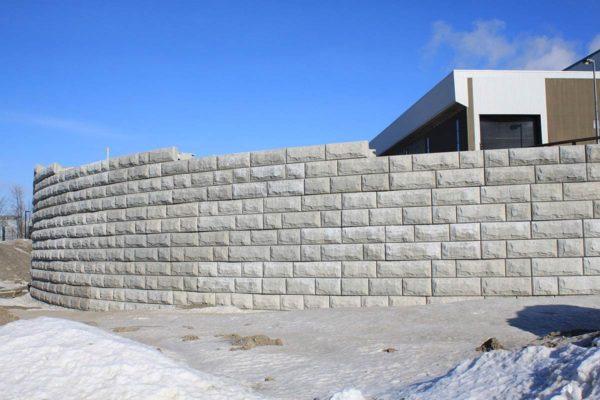 Mur Stone Strong à l'incinérateur de Québec