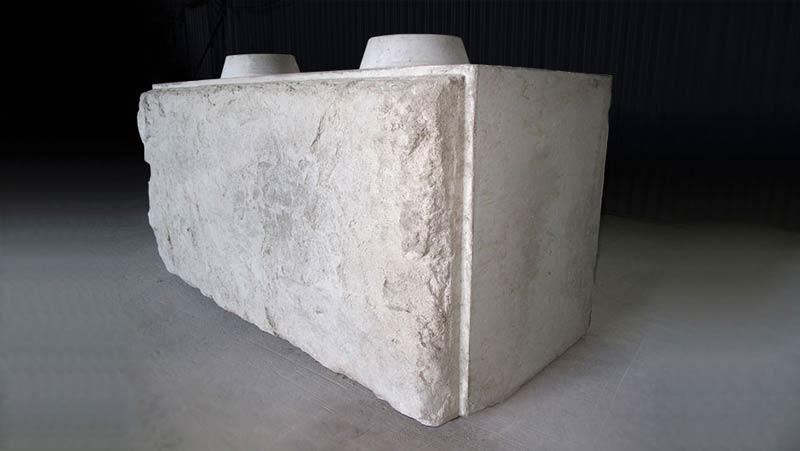 Béton Provincial - Concrete blocks