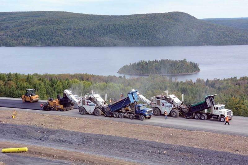 Béton Provincial - Pavage Enrobage bitumineux