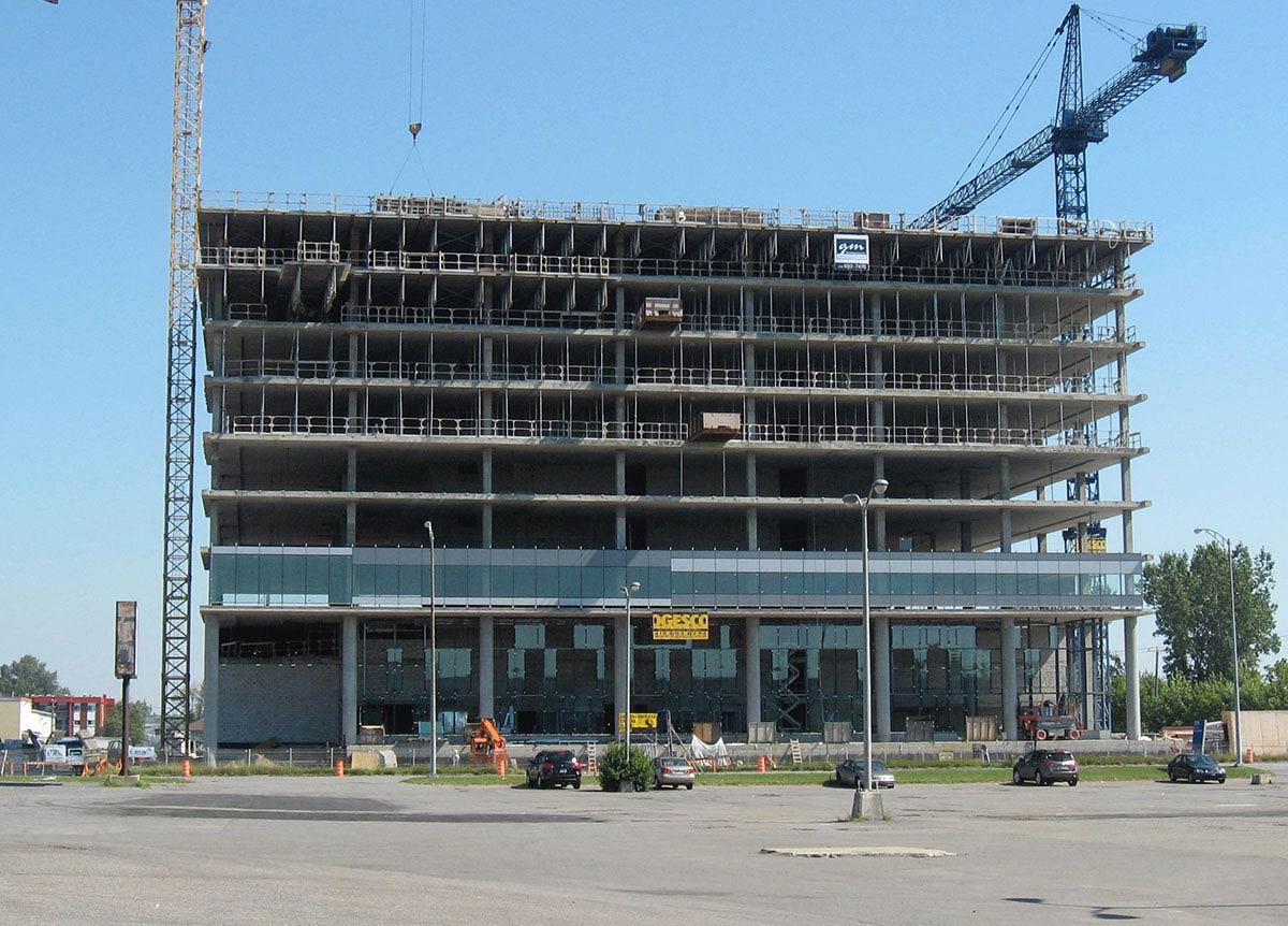 PUBLIC SERVICES AND PROCUREMENT CANADA BUILDING, QUEBEC CITY